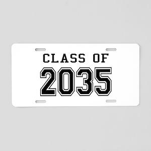 Class of 2035 Aluminum License Plate