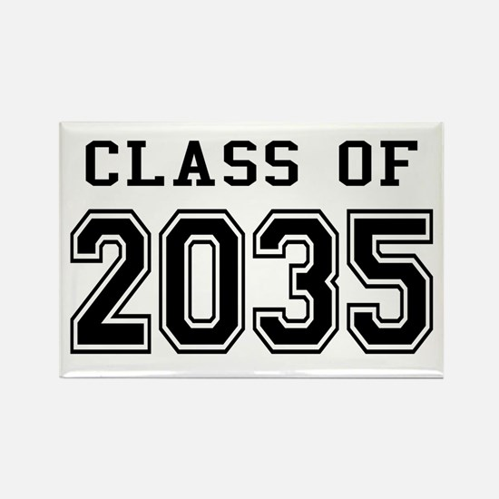 Class of 2035 Rectangle Magnet