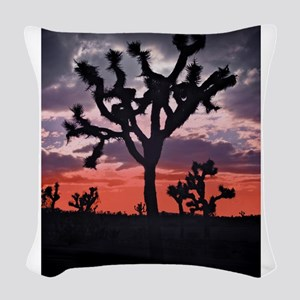 Joshua Tree Woven Throw Pillow