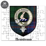 Armstrong Clan Crest Tartan Puzzle