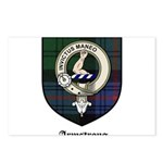 Armstrong Clan Crest Tartan Postcards (Package of