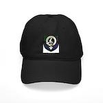 Armstrong Clan Crest Tartan Black Cap