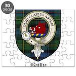 Baillie Clan Crest Tartan Puzzle