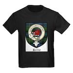 Baillie Clan Crest Tartan Kids Dark T-Shirt