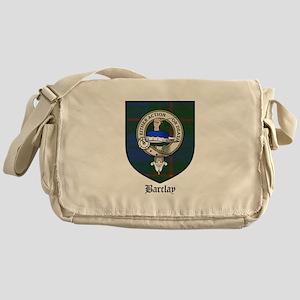 Barclay Clan Crest Tartan Messenger Bag