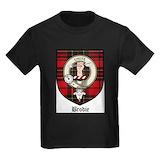 Brodie clan Kids T-shirts (Dark)