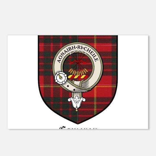 Cameron Clan Crest Tartan Postcards (Package of 8)