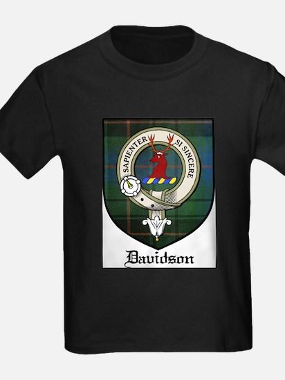 Davidson Clan Crest Tartan T