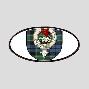 Graham Clan Crest Tartan Patches