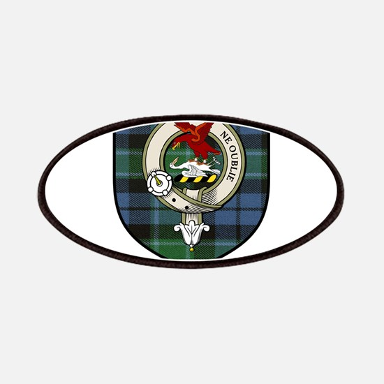 Graham Clan Crest Tartan Patches