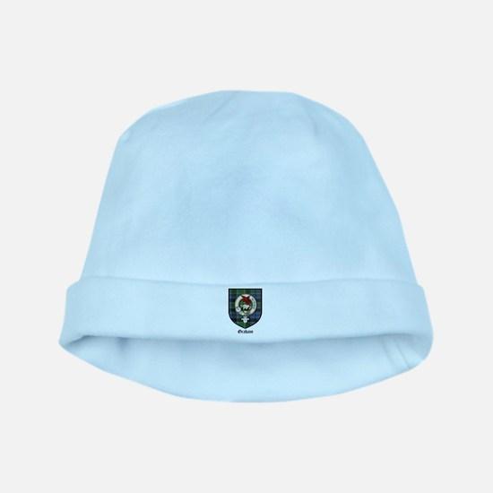 Graham Clan Crest Tartan baby hat