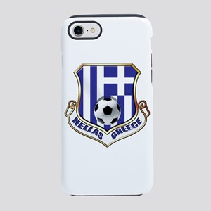 Greece Soccer Shield iPhone 7 Tough Case
