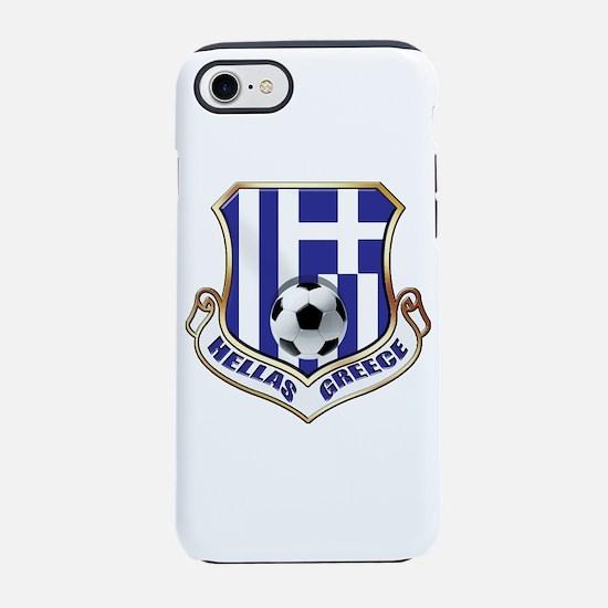 Greece Soccer Shield iPhone 7 Tough Case