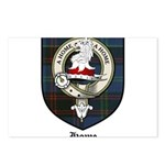 Home Clan Crest Tartan Postcards (Package of 8)