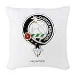 Hunter.jpg Woven Throw Pillow