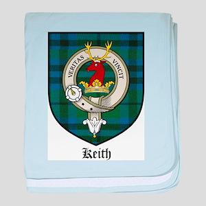 Keith Clan Crest Tartan baby blanket