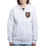 MacBean Clan Crest Tartan Women's Zip Hoodie