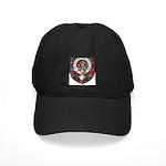 MacBean Clan Crest Tartan Black Cap