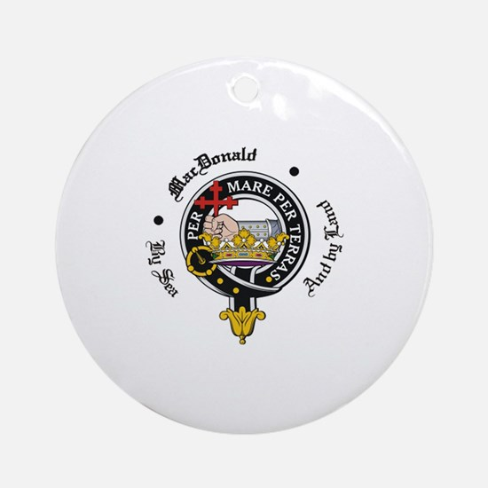 MacDonald_clan.png Ornament (Round)