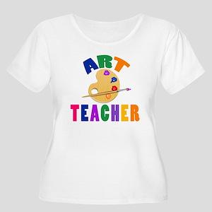Art Teacher Women's Plus Size Scoop Neck T-Shirt