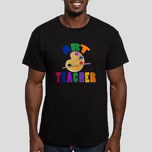 Art Teacher Men's Fitted T-Shirt (dark)