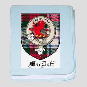 MacDuff Clan Crest Tartan baby blanket