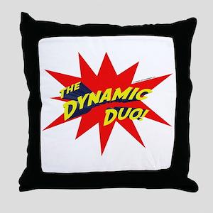 Dynamic Duo Throw Pillow