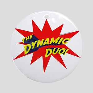 Dynamic Duo Ornament (Round)
