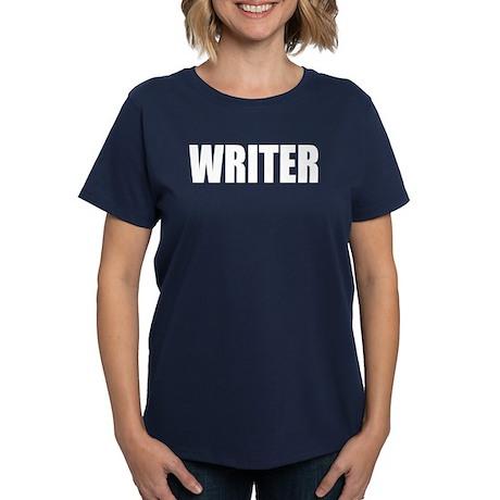 "Castle ""WRITER"" Women's Dark T-Shirt"
