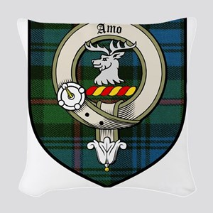 McKinlay Clan Crest Tartan Woven Throw Pillow