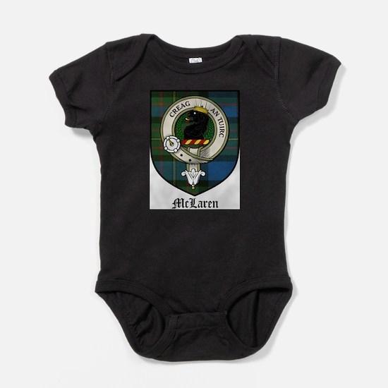 McLaren Clan Crest Tartan Baby Bodysuit