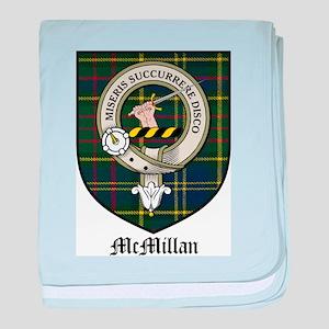 McMillan Clan Crest Tartan baby blanket