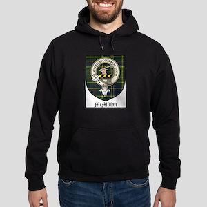 McMillan Clan Crest Tartan Hoodie (dark)