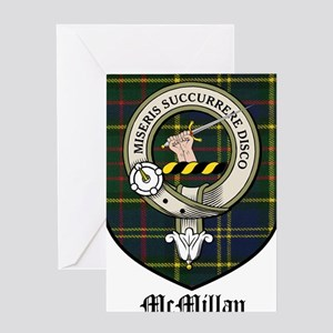 McMillan Clan Crest Tartan Greeting Card