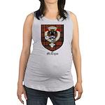 McTigue Clan Crest Tartan Maternity Tank Top
