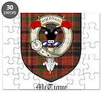 McTigue Clan Crest Tartan Puzzle