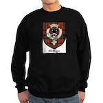 McTigue Clan Crest Tartan Sweatshirt (dark)