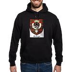 McTigue Clan Crest Tartan Hoodie (dark)