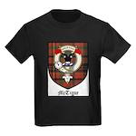 McTigue Clan Crest Tartan Kids Dark T-Shirt