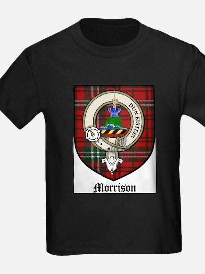 Morrison Clan Crest Tartan T