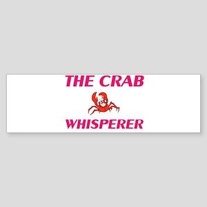 The Crab Whisperer Bumper Sticker