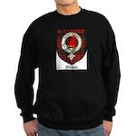 Nichols Clan Crest Tartan Sweatshirt (dark)