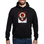 Nichols Clan Crest Tartan Hoodie (dark)