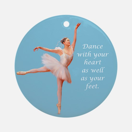Dance with Your Heart Ballet Ornament