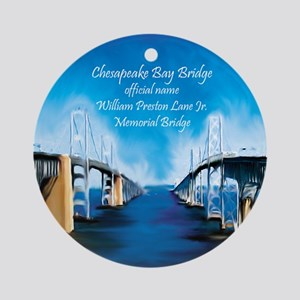 Chesapeake Bay Bridge Ornament