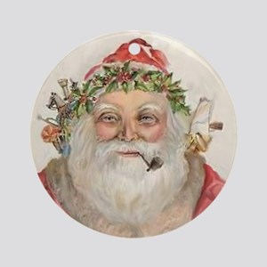 Victorian Santa Father Christmas Ornament