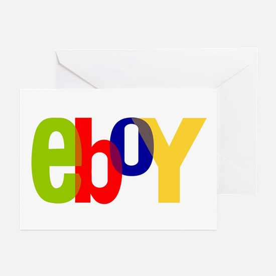 e boy's Greeting Cards (Pk of 10)