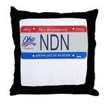 Ohio NDN Pride Throw Pillow