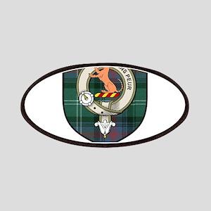 Sutherland Clan Crest Tartan Patches