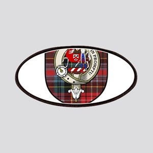 Trotter Clan Crest Tartan Patches